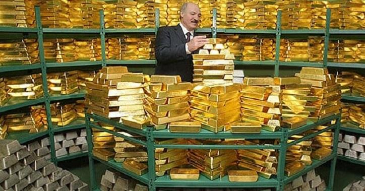 Lukaschenko gab das Gold von Belarus bis zum letzten Gramm aus dem Ausland zurück