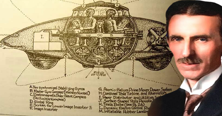 Nikola Tesla löste die Rätsel der Antigravitation