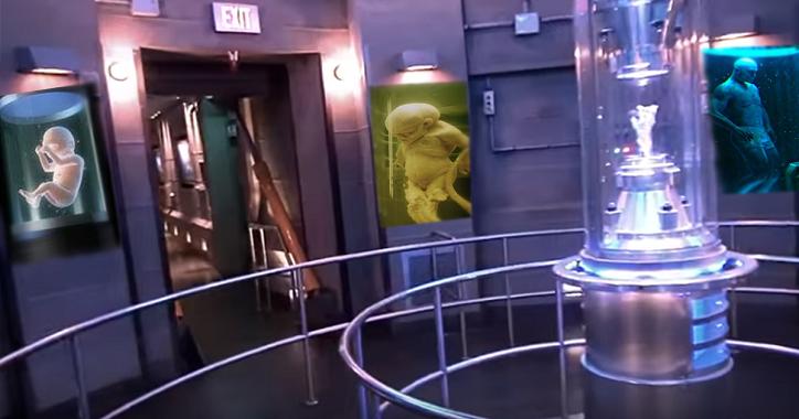 Durchgesickertes Filmmaterial in einer 10 Meilen tiefen außerirdischen Untergrundbasis – Bereich 51 (Video)