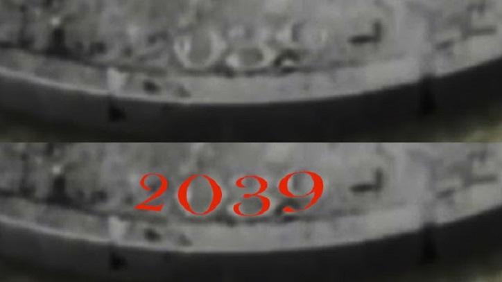 Die skurrile Nazi-Münze fand das Datum 2039, Verschwörungstheoretiker behaupten, ein Beweis für eine Reise in die Zukunft zu sein.