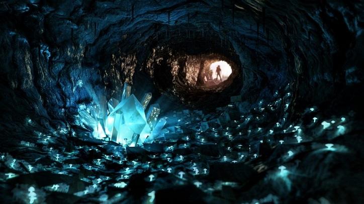 Jules Vernes massive Kristalle sind echt und befinden sich 300 Meter unter einer mexikanischen Wüste