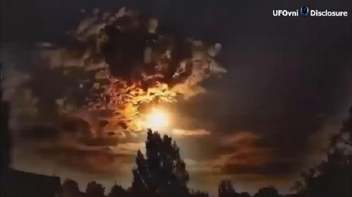 """Seltsamer grüner Meteor trifft die Erde mit """"massiver Explosion"""" in der Türkei"""
