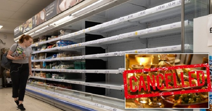 """Das Weihnachtsessen könnte abgesagt werden, da die Briten """"in zwei Wochen"""" mit Fleischknappheit konfrontiert sind"""