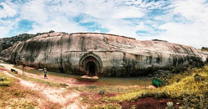 In Indien wurden 2.400 Jahre alte Bombenschutzbunker und antike Bunker entdeckt (VIDEO)